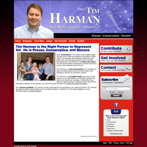 Tim Harman for Indiana State Represesntative - District 17