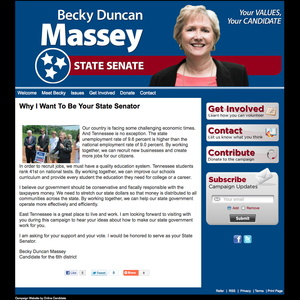 Becky Duncan Massey for Tennessee State Senator