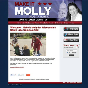 Molly McGartland for State Assembly - District 20