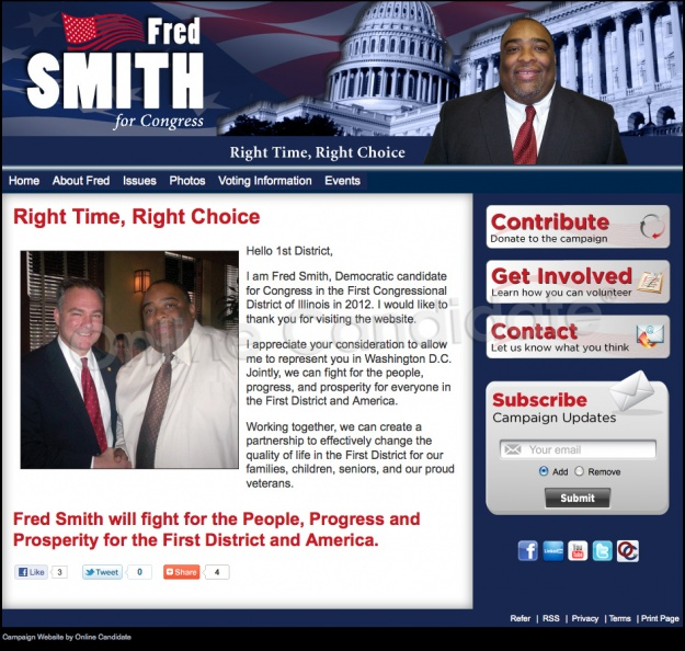 Fred Smith For Congress - Illinois 1st District
