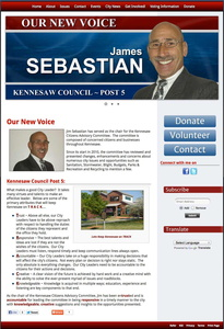 James V Sebastian Jr for Kennesaw City Council Post 5