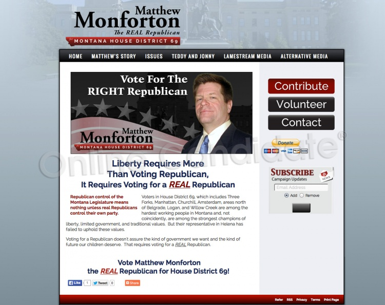 Matthew Monforton for Montana House of Representatives