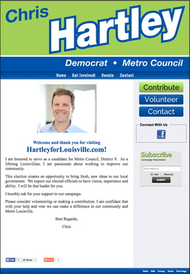 Chris Hartley for Metro Council, District 9
