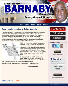 Webster Barnaby for Volusia County Council At Large