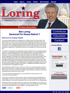 Ben Loring for Oklahoma House of Representatives District 7