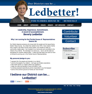 Beverly Ledbetter for Florida House District 38