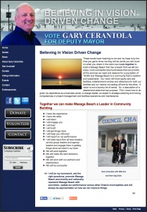 Gary Cerantola for-Wasaga Beach Deputy Mayor