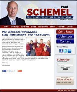 Paul Schemel for Pennsylvania State Representative - 90th House District