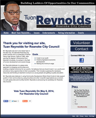 Tuan Reynolds for Roanoke City Council