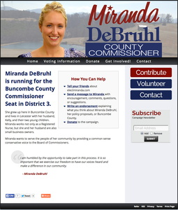 Miranda DeBruhl for Buncombe County Commissioner Seat - District 3