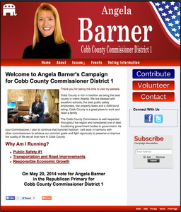 Angela Barner for Cobb County Commissioner District 1