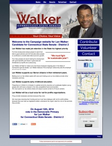 Len Walker for Connecticut State Senate - District 2