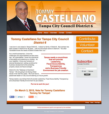 Tommy Castellano for Tampa City Council - District 6