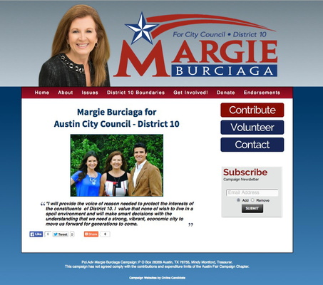 Margie Burciaga for Austin City Council - District 10