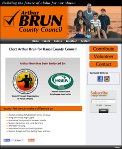Arthur Brun for Kauai County Council
