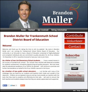 Brandon Muller for Frankenmuth School District Board of Education