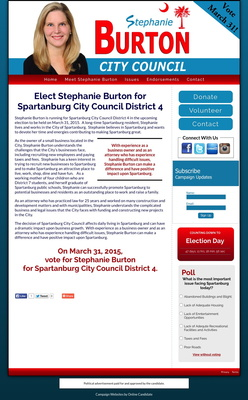 Stephanie Burton for Spartanburg City Council District 4