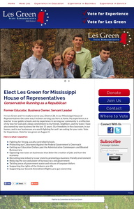 Elect Les Green for Mississippi House of Representatives