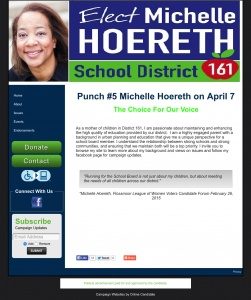 Elect Michelle Hoereth for School District 161