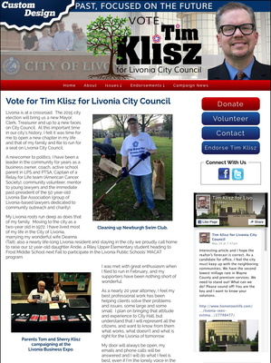 Tim Klisz for Livonia City Council