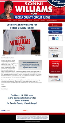 Sonni Williams for Peoria County Judge