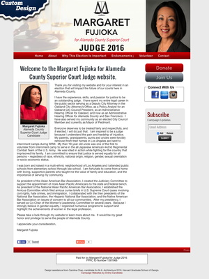 Margaret Fujioka for Alameda County Superior Court Judge