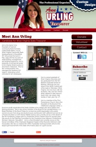 Ann Urling Candidate for West Virginia State Treasurer
