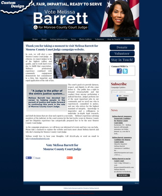 Melissa Barrett for Monroe County Court Judge