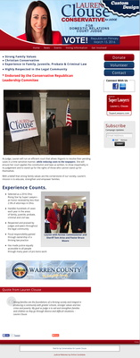 Lauren Clouse   Conservative for Judge
