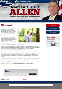 Norman Allen for Chairman Upson County Board of Commissioners
