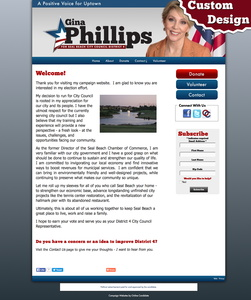Gina Phillips for Seal Beach City Council District 4