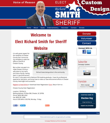 Elect Richard Smith for Sheriff