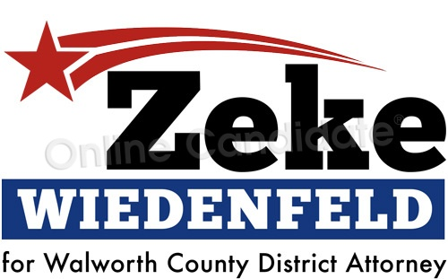 District Attorney Campaign Logo ZW