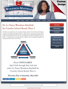 Dr. La Tonya Woodson-Mayfield for Crowley School Board, Place 2