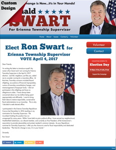 Ron Swart for Erienna Township Supervisor
