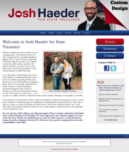 Josh Haeder for South Dakota State Treasurer