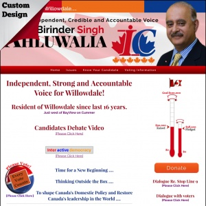 Birinder Singh Ahluwalia - Independent Federal Candidate for Willowdale Federal Election