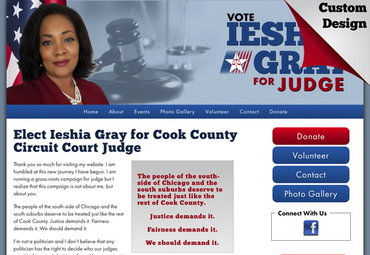 Judicial Websites - example gallery