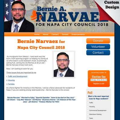 Bernie Narvaez for Napa City Council