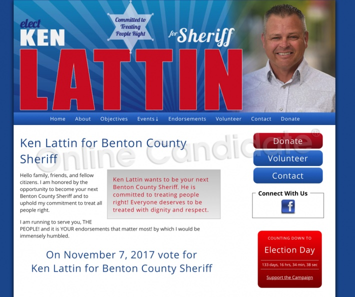 Ken Lattin for Benton County Sheriff