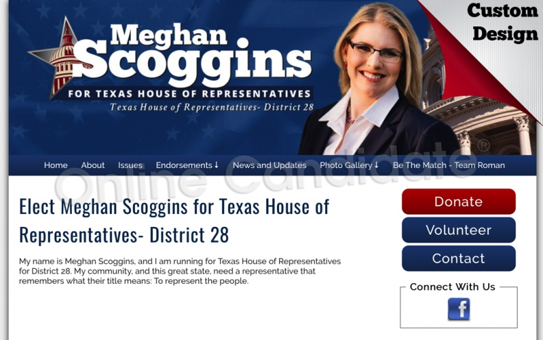 Meghan Scoggins for Texas House of Representatives- District 28