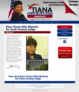 Tiana Ellis Blakely for Cook County Judge