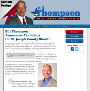 Bill Thompson for St. Joseph County Sheriff