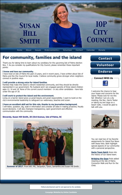 Susan Hill Smith- Candidate for Isle of Palms City Council