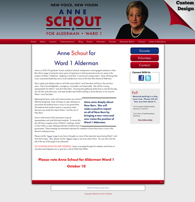 Anne Schout for Alderman Ward 1