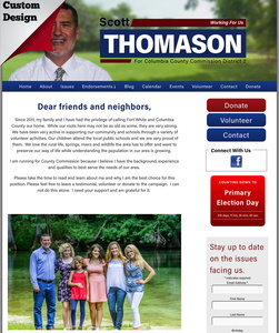 Scott Thomason for Columbia County Commission District 2