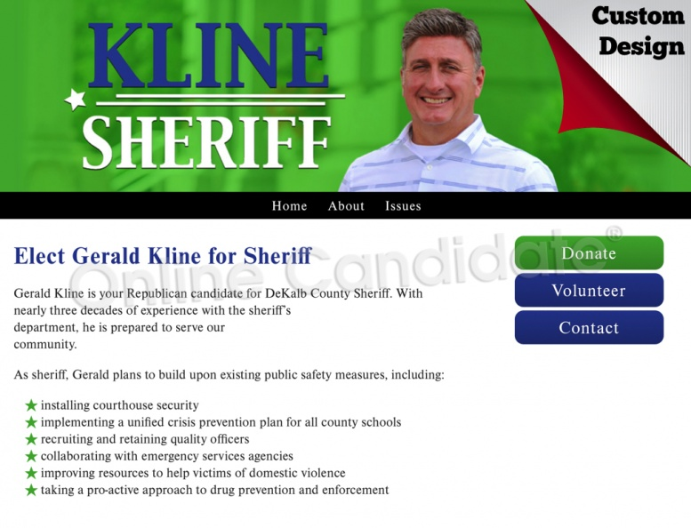 Elect Gerald Kline for Sheriff