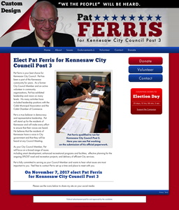 Pat Ferris for Kennesaw City Council Post 3