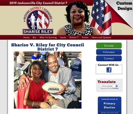 Sharise V. Riley for City Council District 7