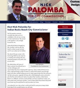 Nick Palomba for Indian Rocks Beach City Commissioner